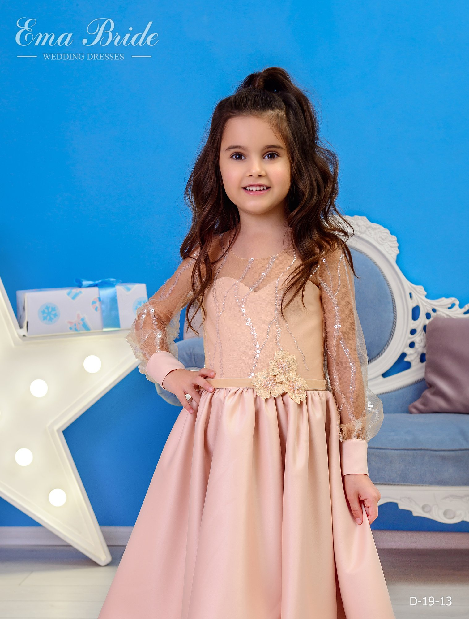 Children's dress by EmaBride D-19-13 2019-1