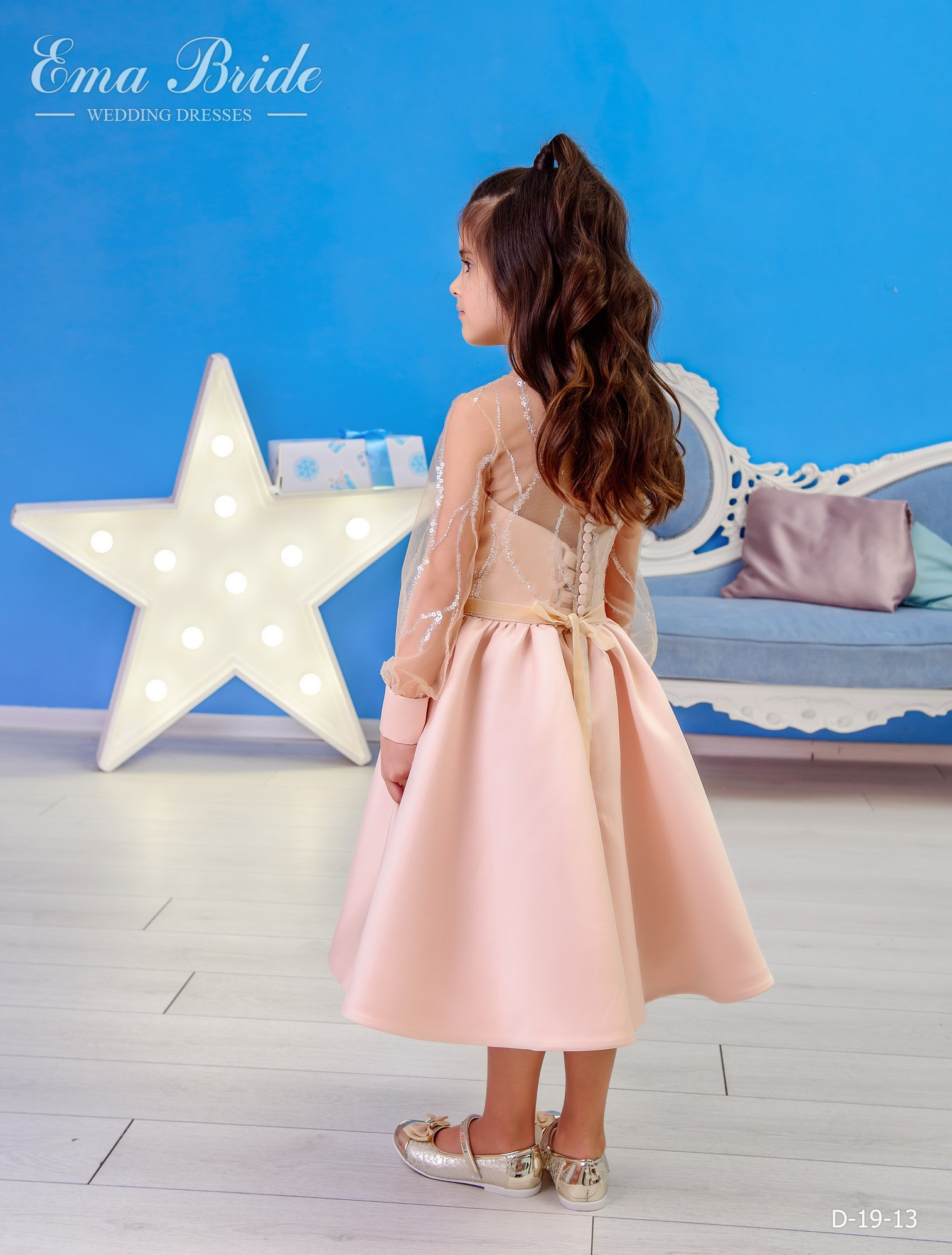 Children's dress by EmaBride D-19-13 2019-3