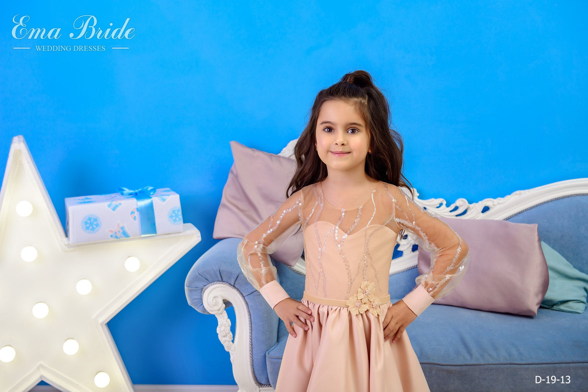 Children's dress by EmaBride D-19-13 2019-2