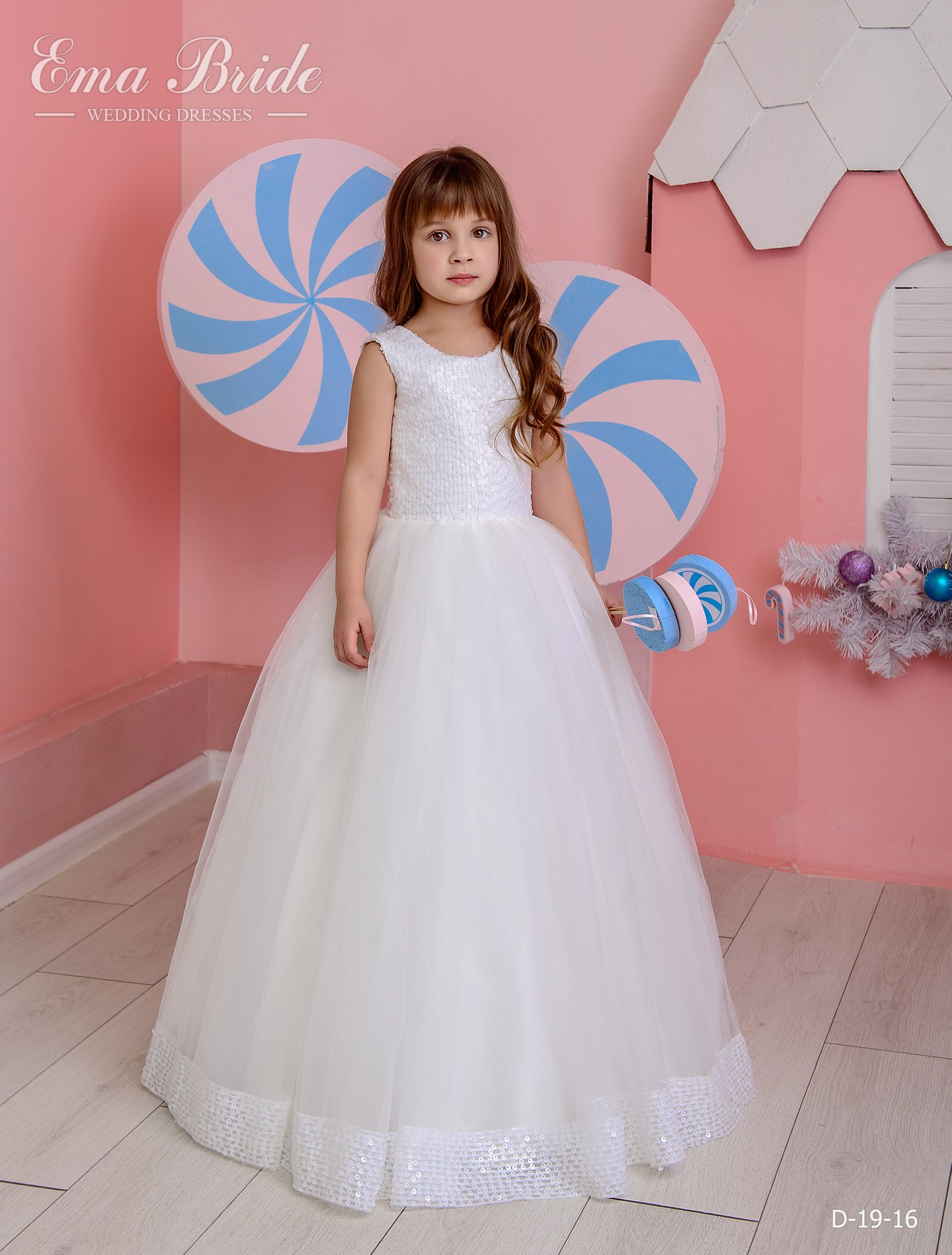 Children's dress by EmaBride D-19-16 2019