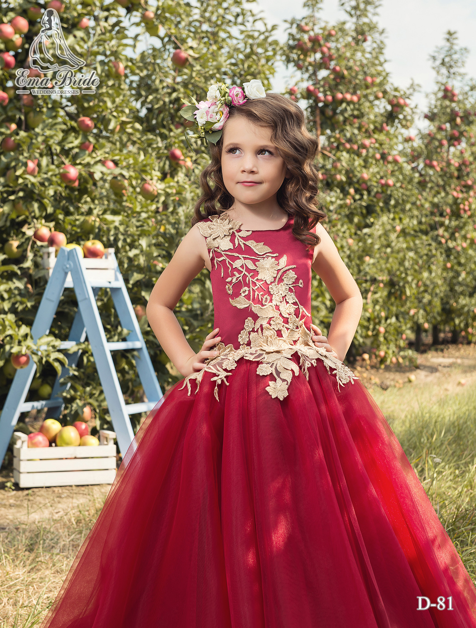 Children's dress D-81 on wholesale-2