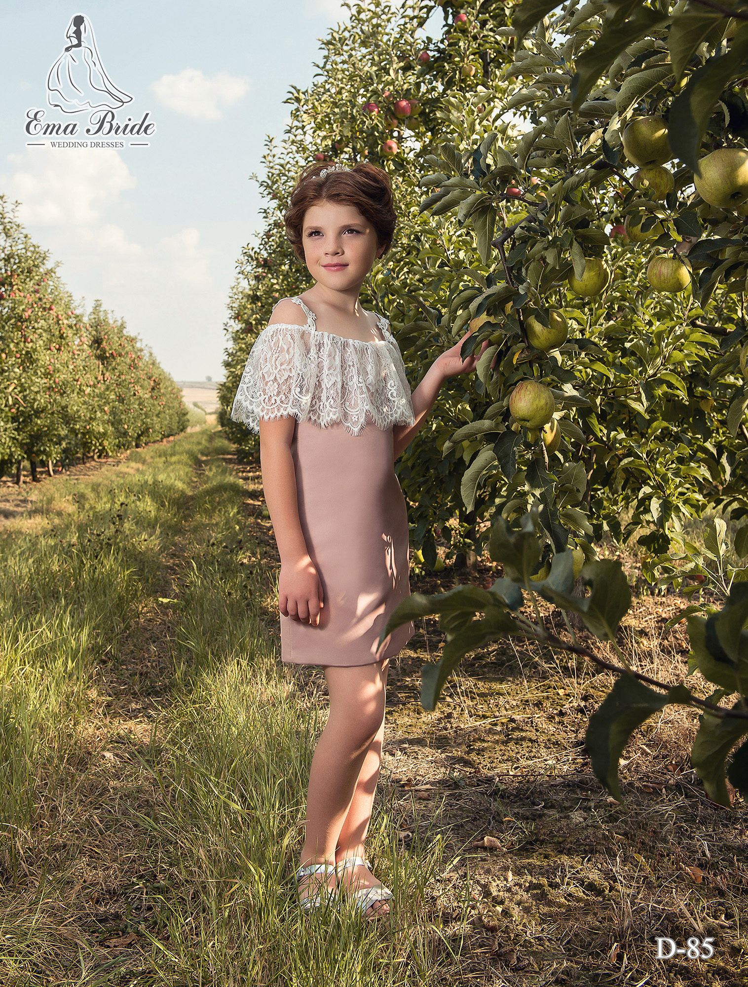 Children's dress D-85 on wholesale
