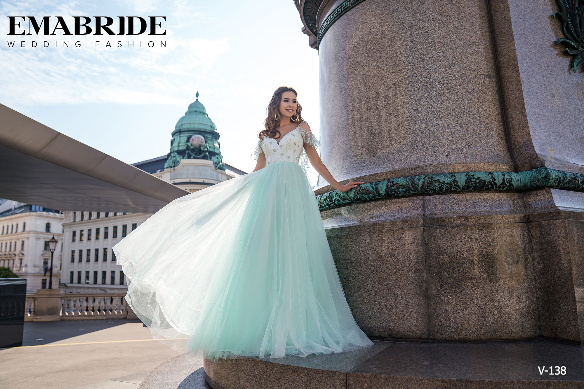 Model V-138 |  Buy evening dresses wholesale by the ukrainian manufacturer Emabride-3