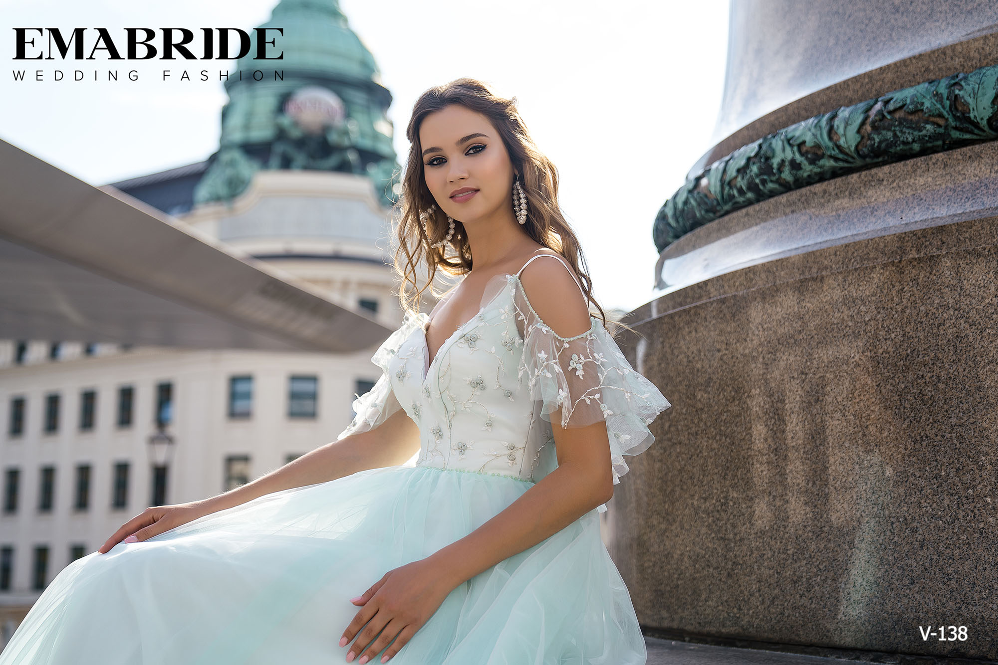Model V-138 |  Buy evening dresses wholesale by the ukrainian manufacturer Emabride-4