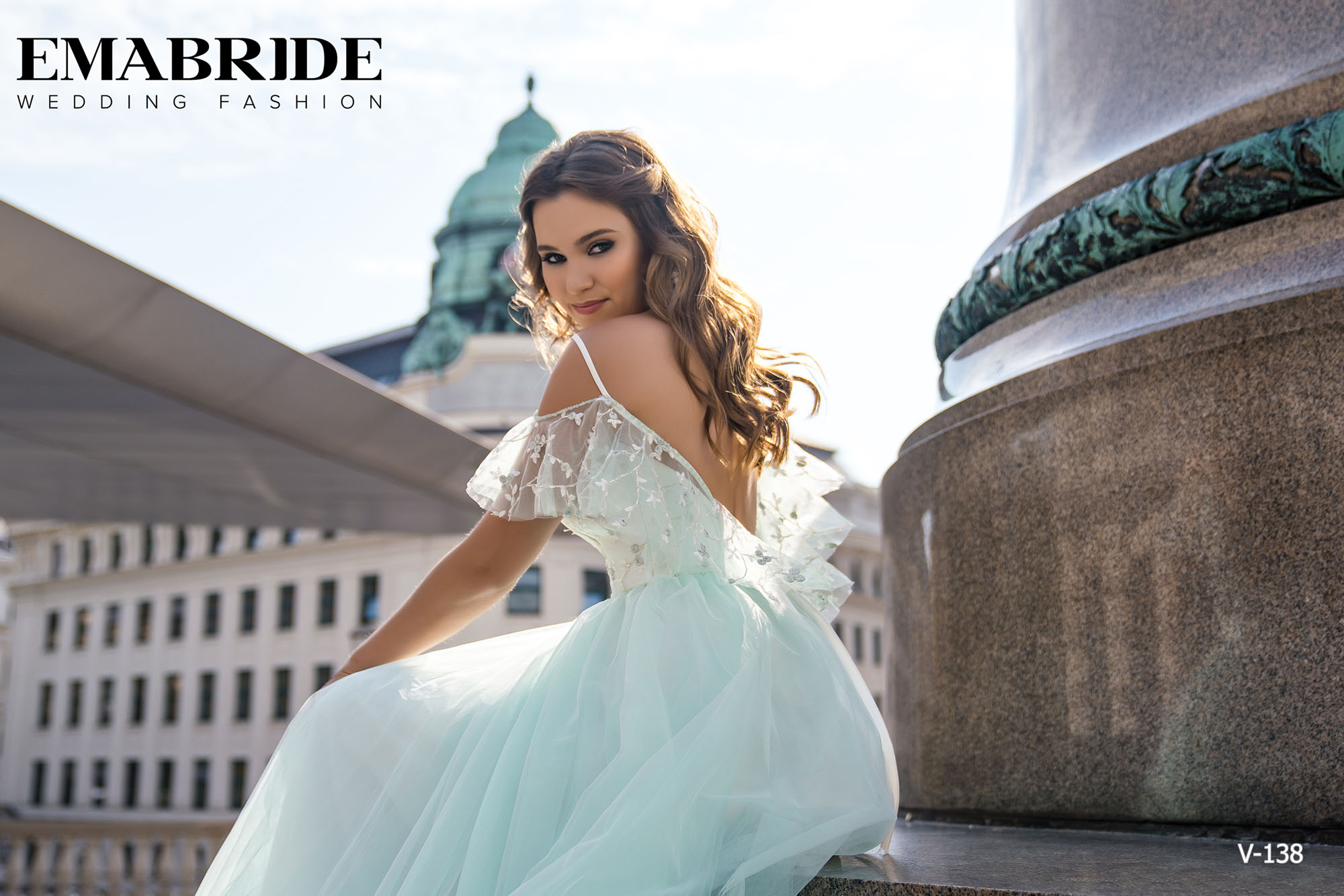 Model V-138 |  Buy evening dresses wholesale by the ukrainian manufacturer Emabride-5