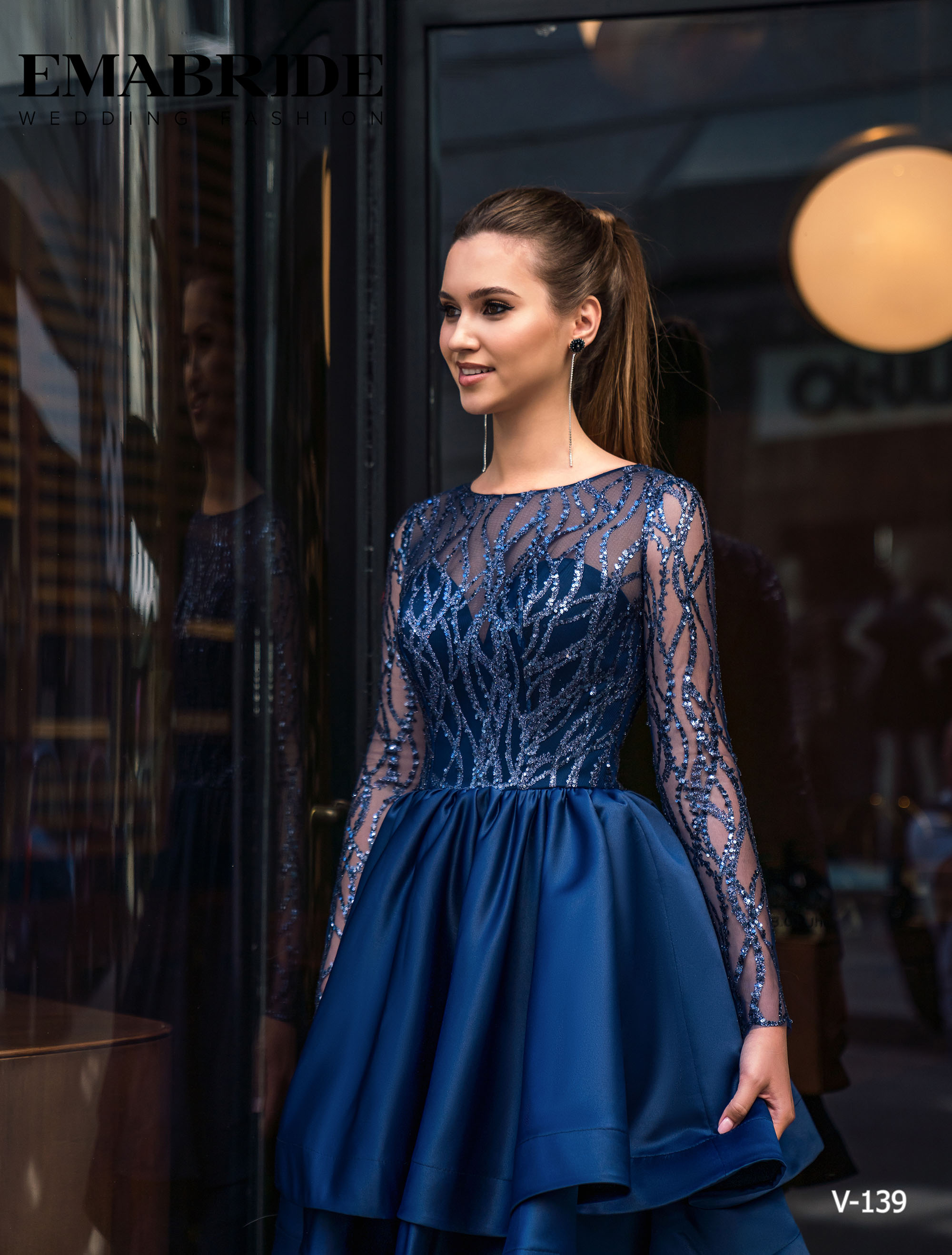 Model V-139 |  Buy evening dresses wholesale by the ukrainian manufacturer Emabride-1