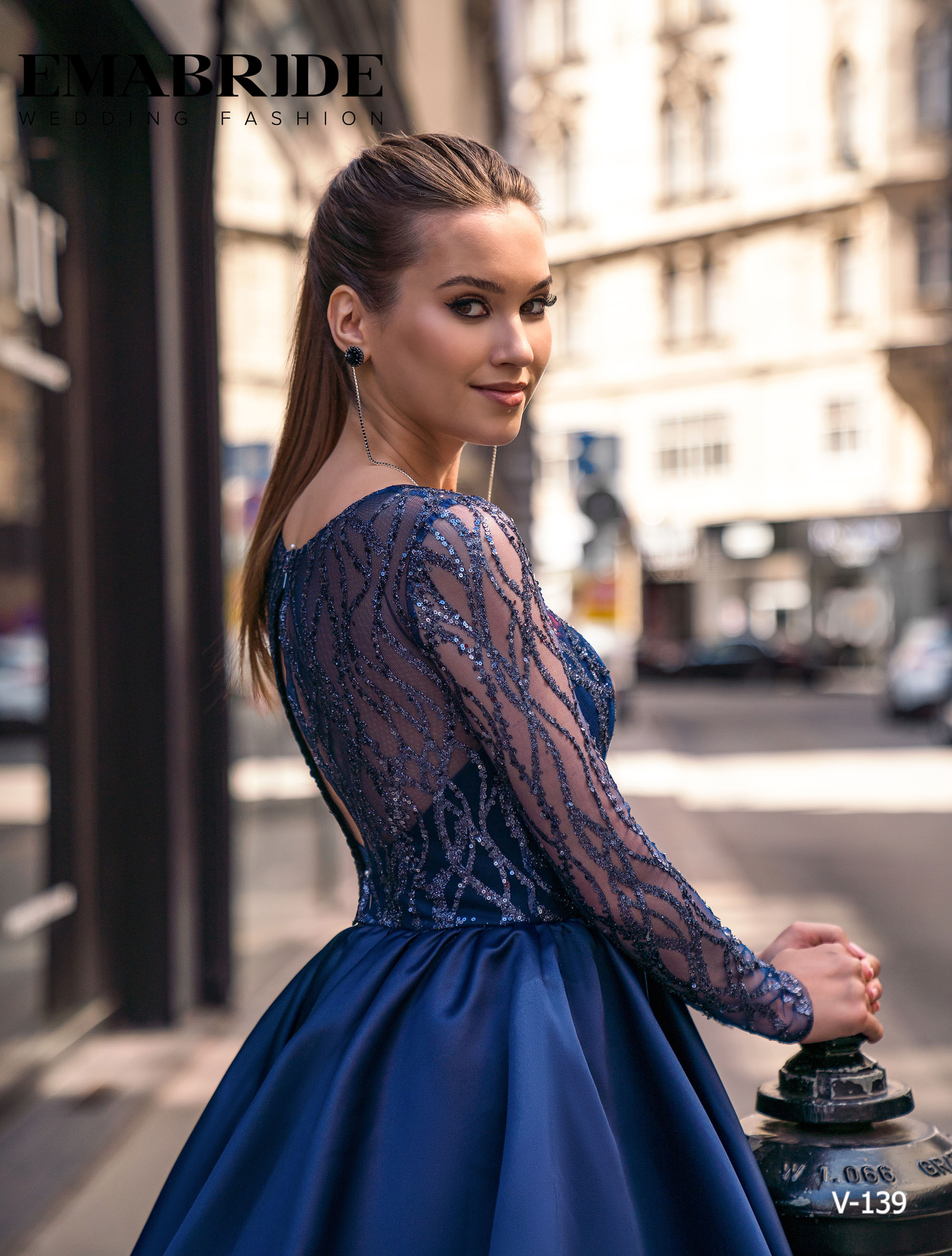Model V-139 |  Buy evening dresses wholesale by the ukrainian manufacturer Emabride-3