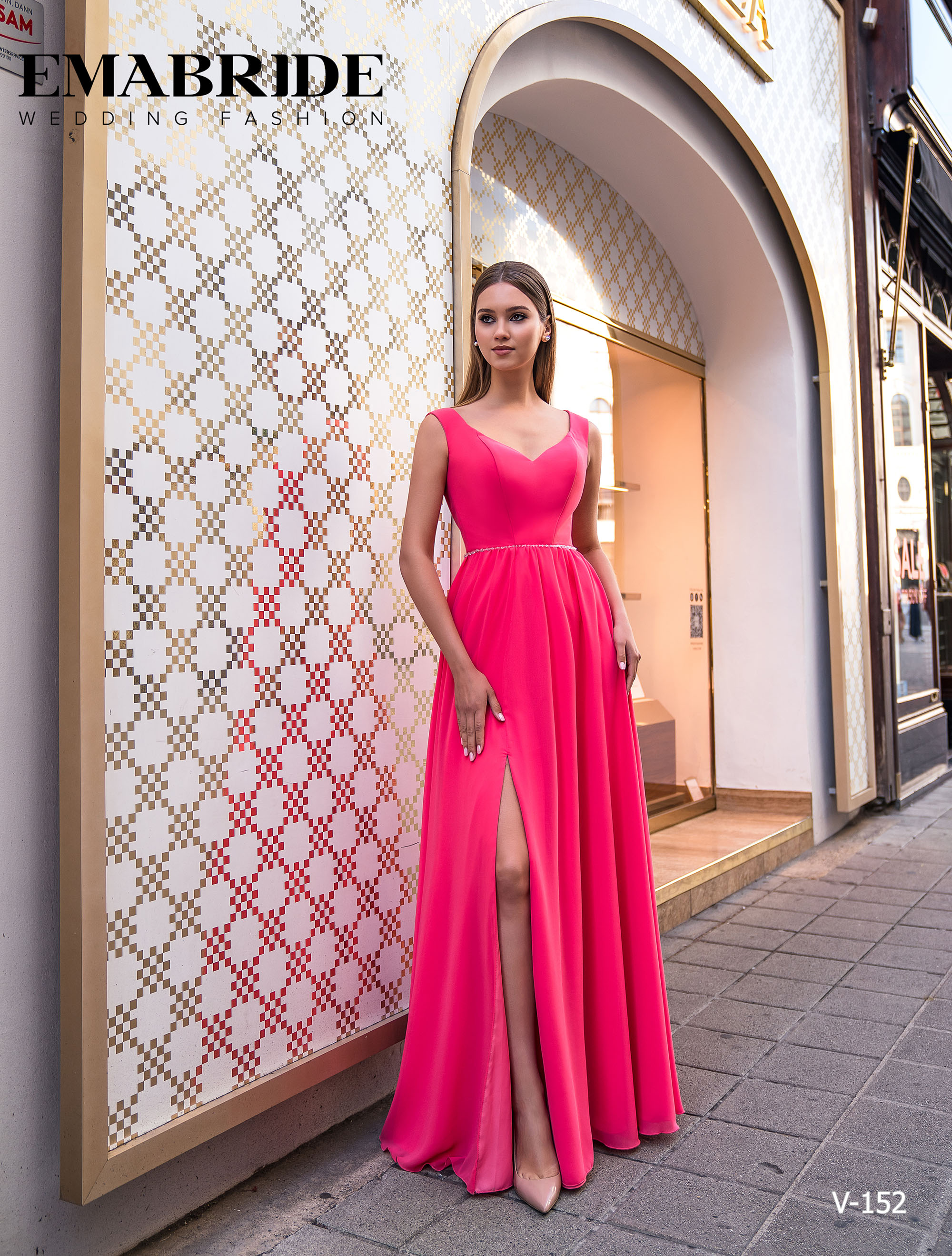 Model V-152 |  Buy evening dresses wholesale by the ukrainian manufacturer Emabride