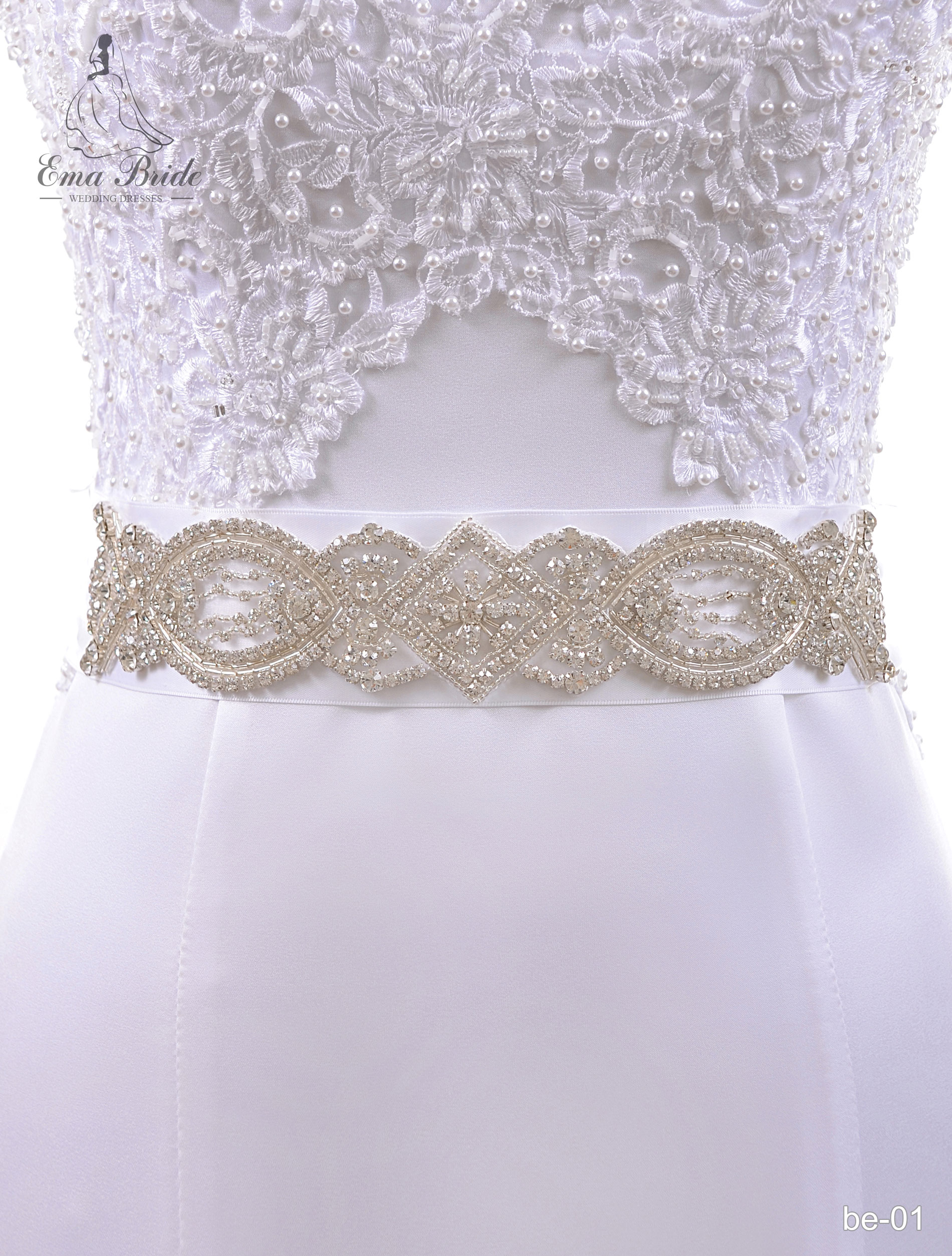 A belt for a wedding dress Be-01