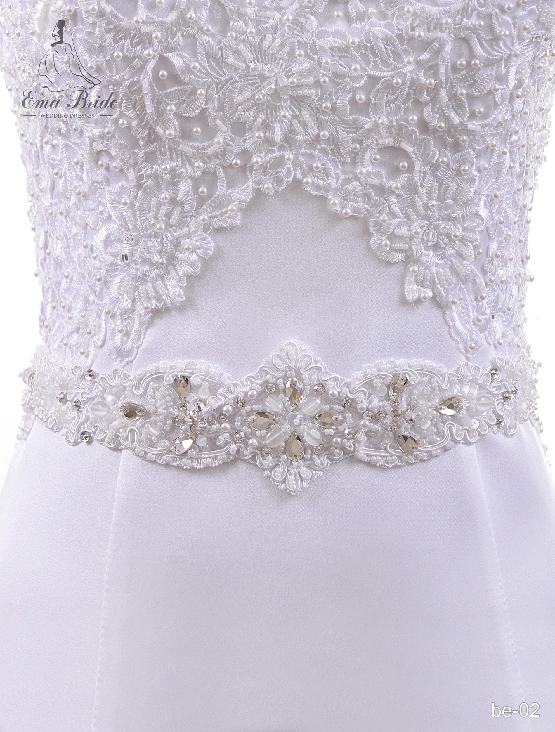 A belt for a wedding dress Be-02