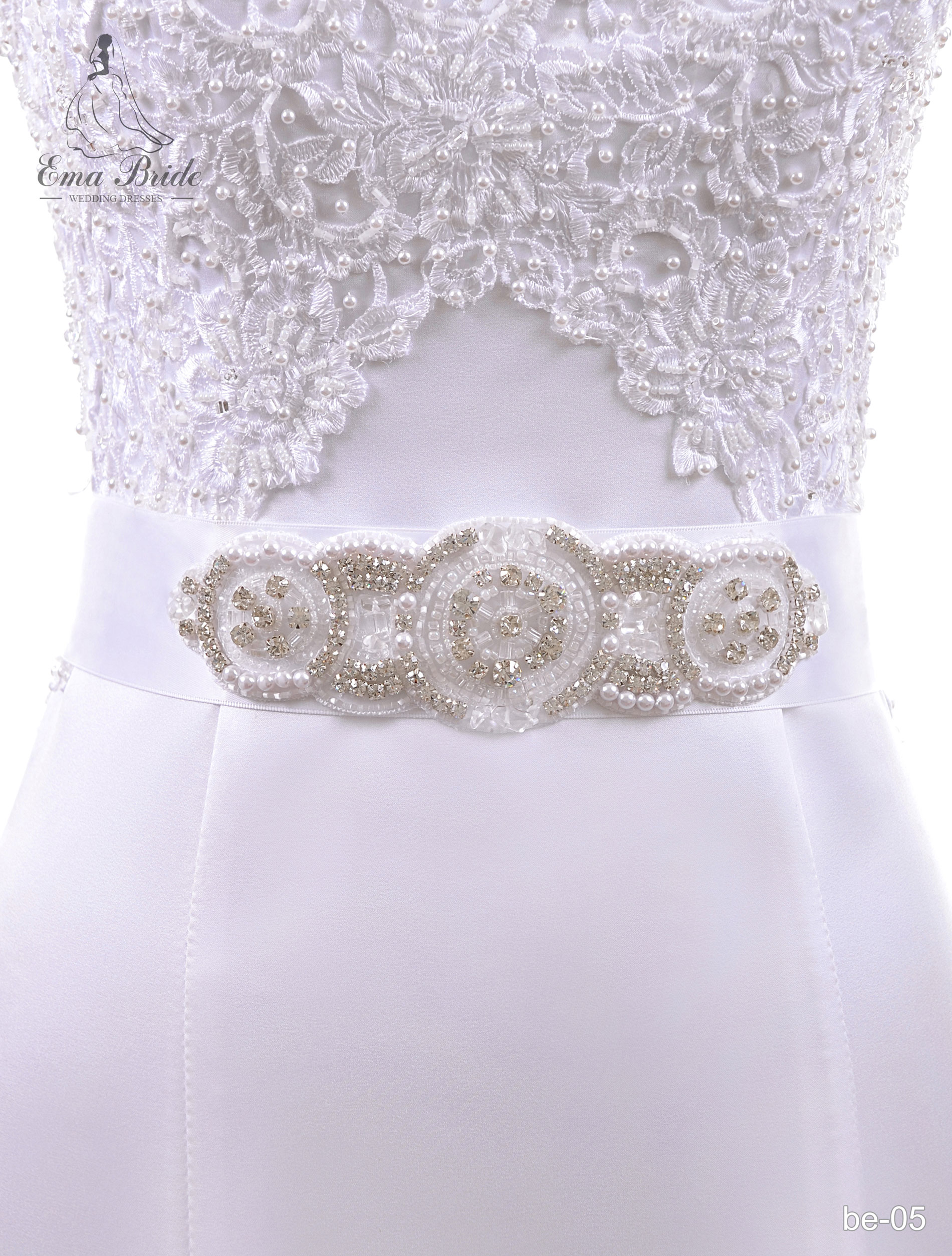 A belt for a wedding dress Be-05