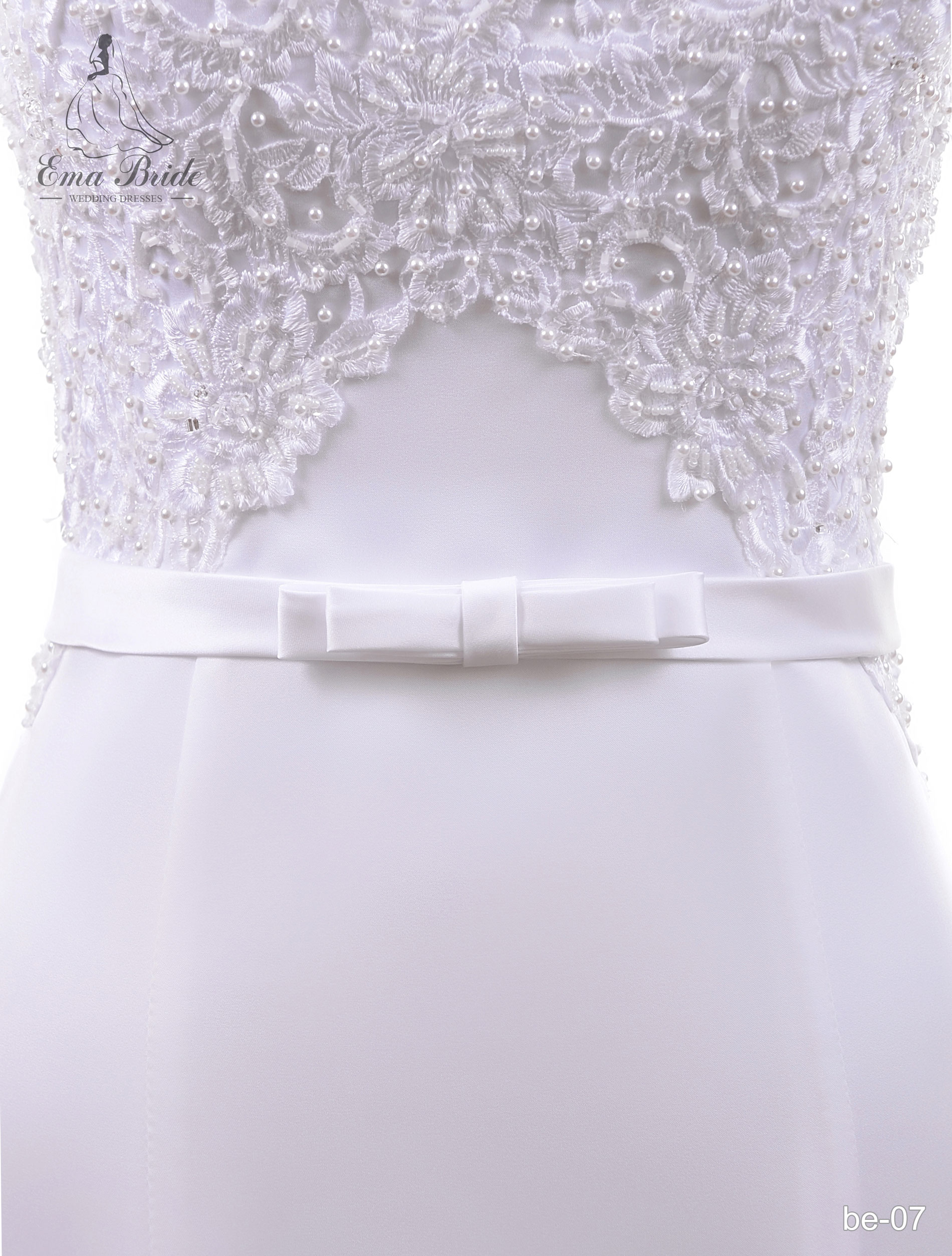 A belt for a wedding dress Be-07