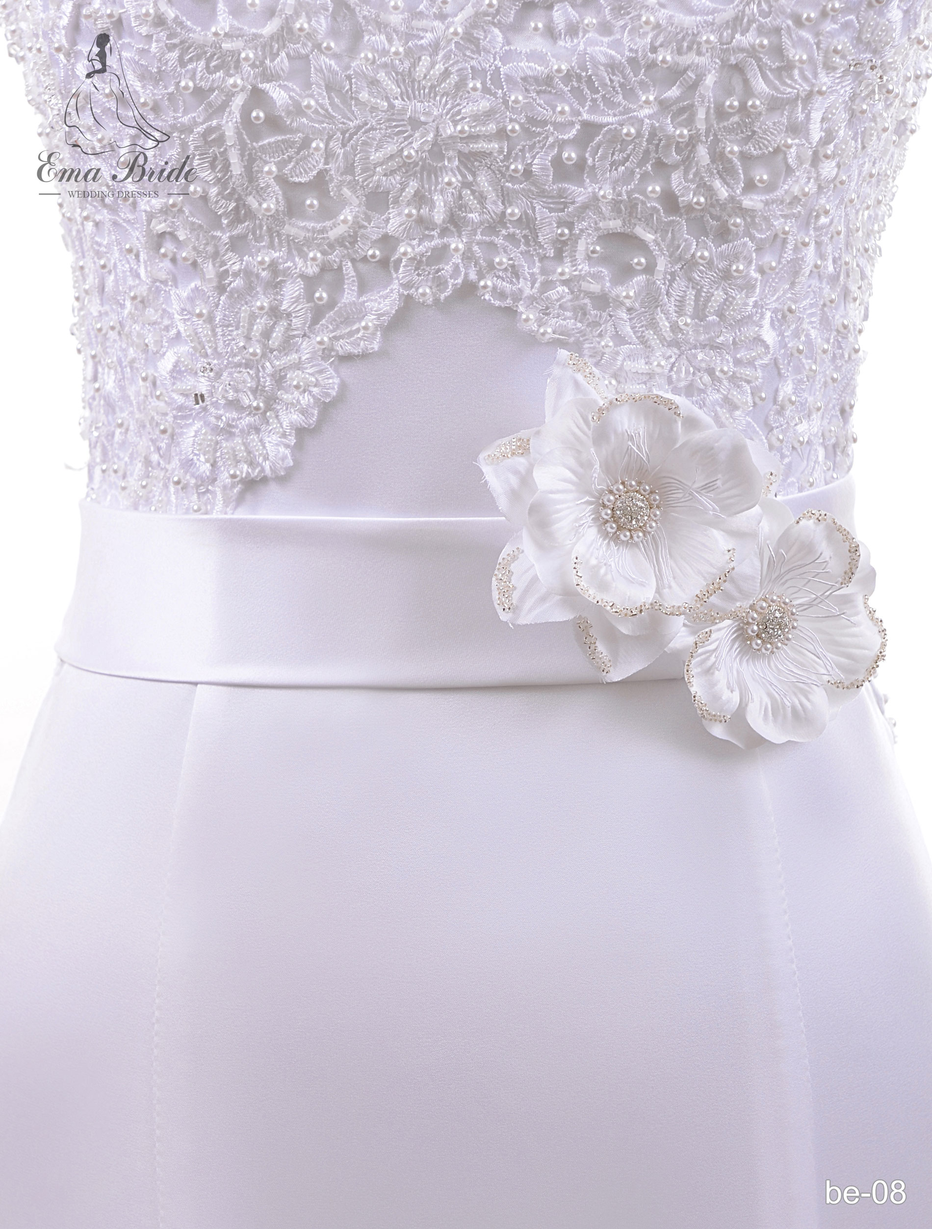 A belt for a wedding dress Be-08