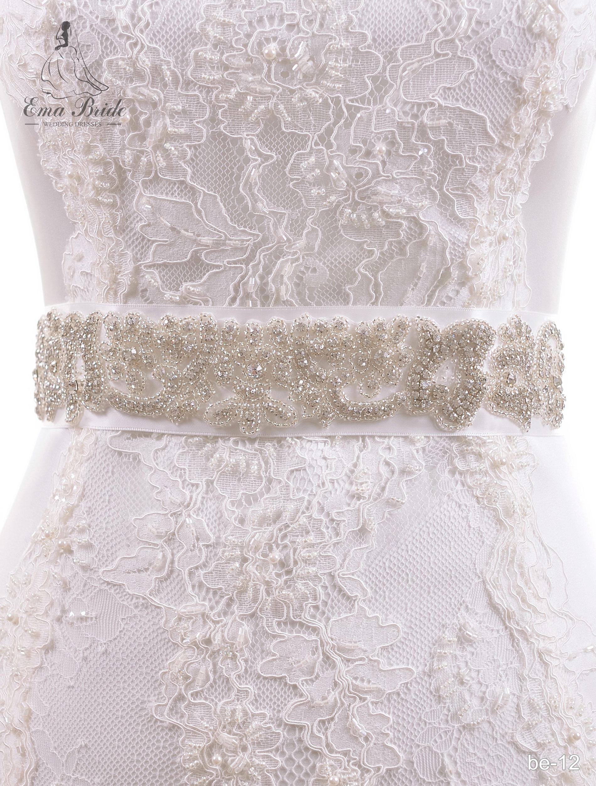 A belt for a wedding dress Be-12