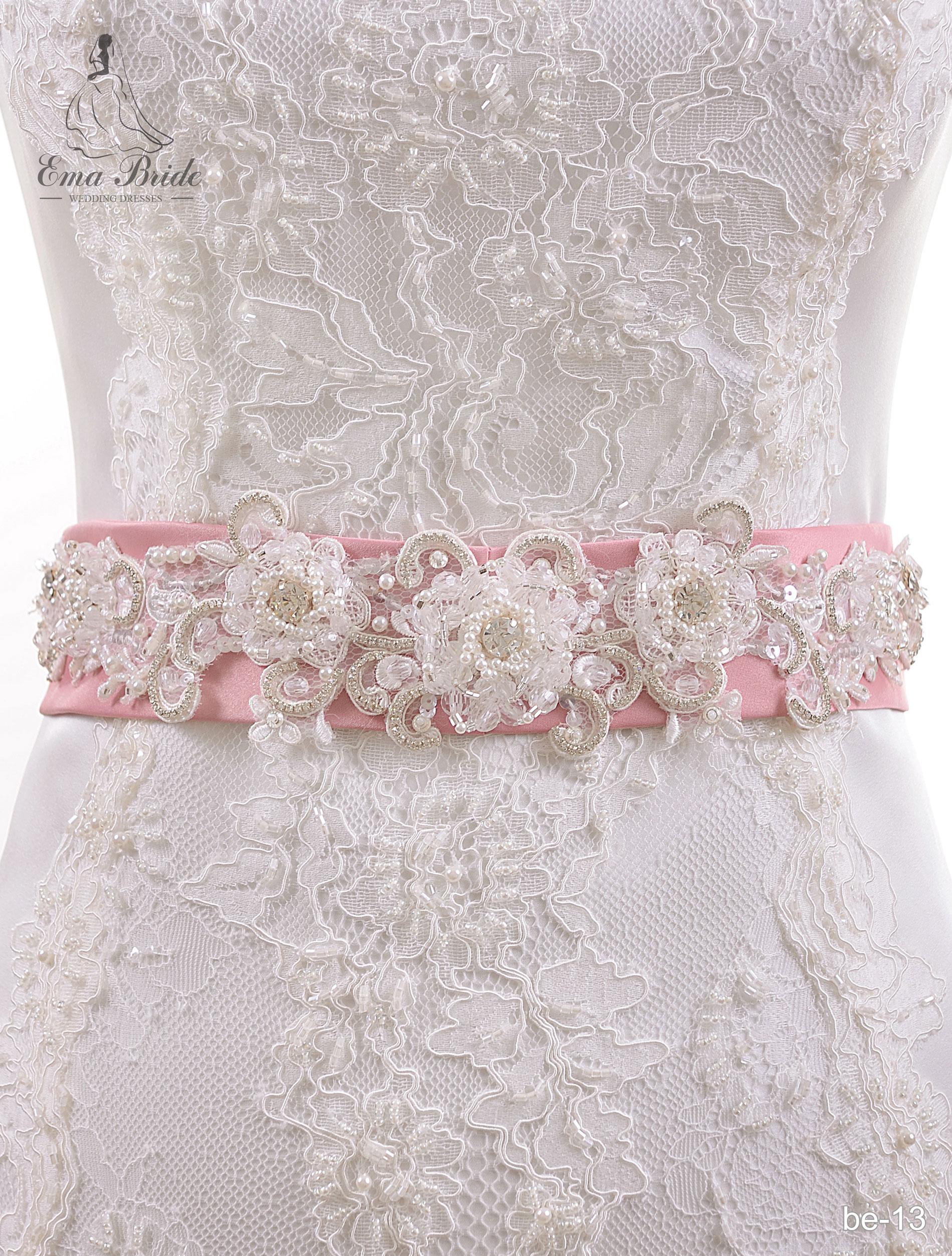 A belt for a wedding dress Be-13