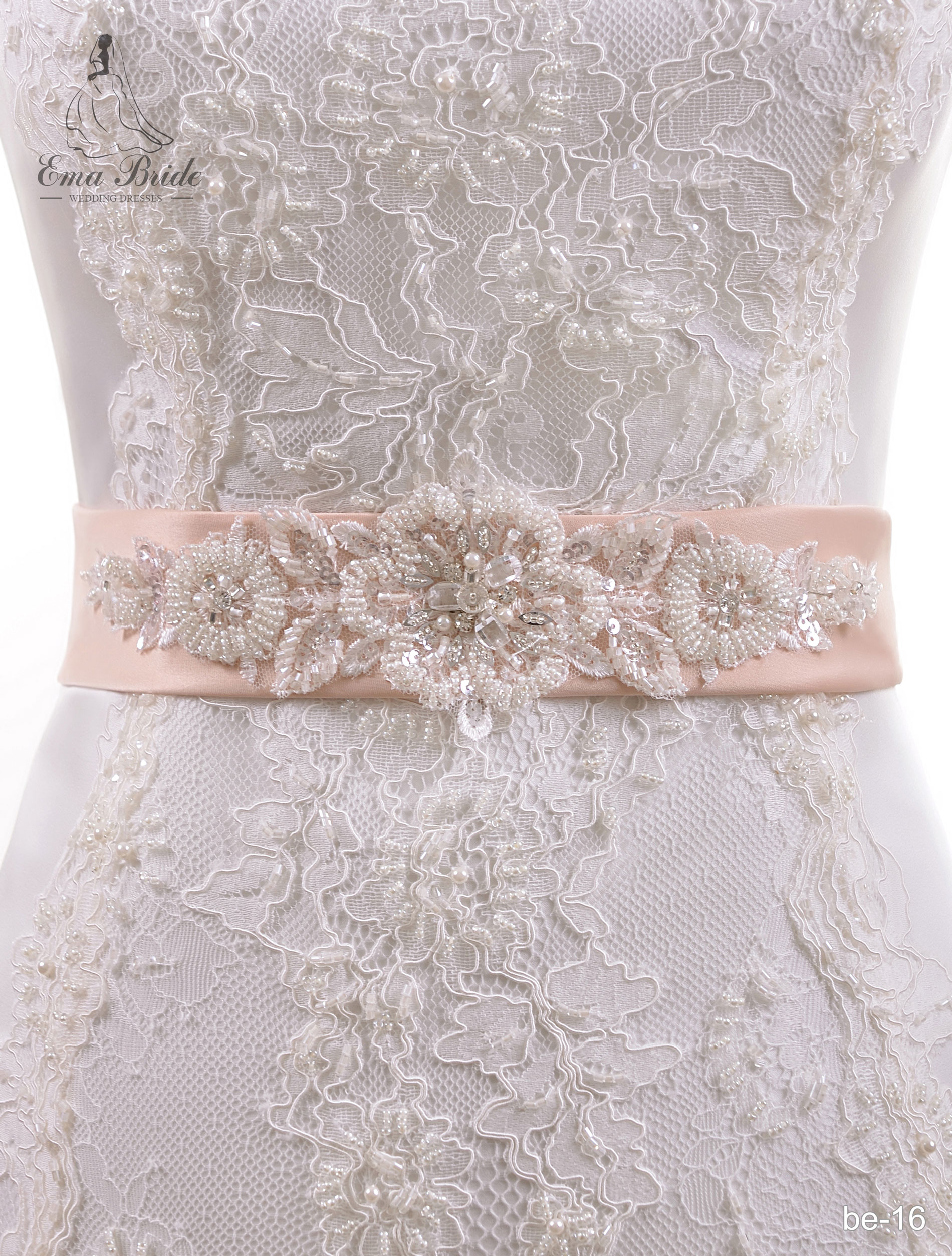 A belt for a wedding dress Be-16