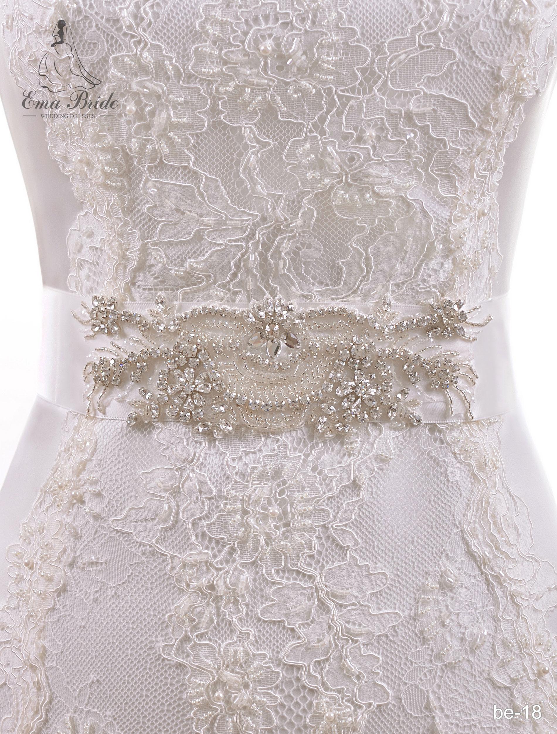 A belt for a wedding dress Be-18