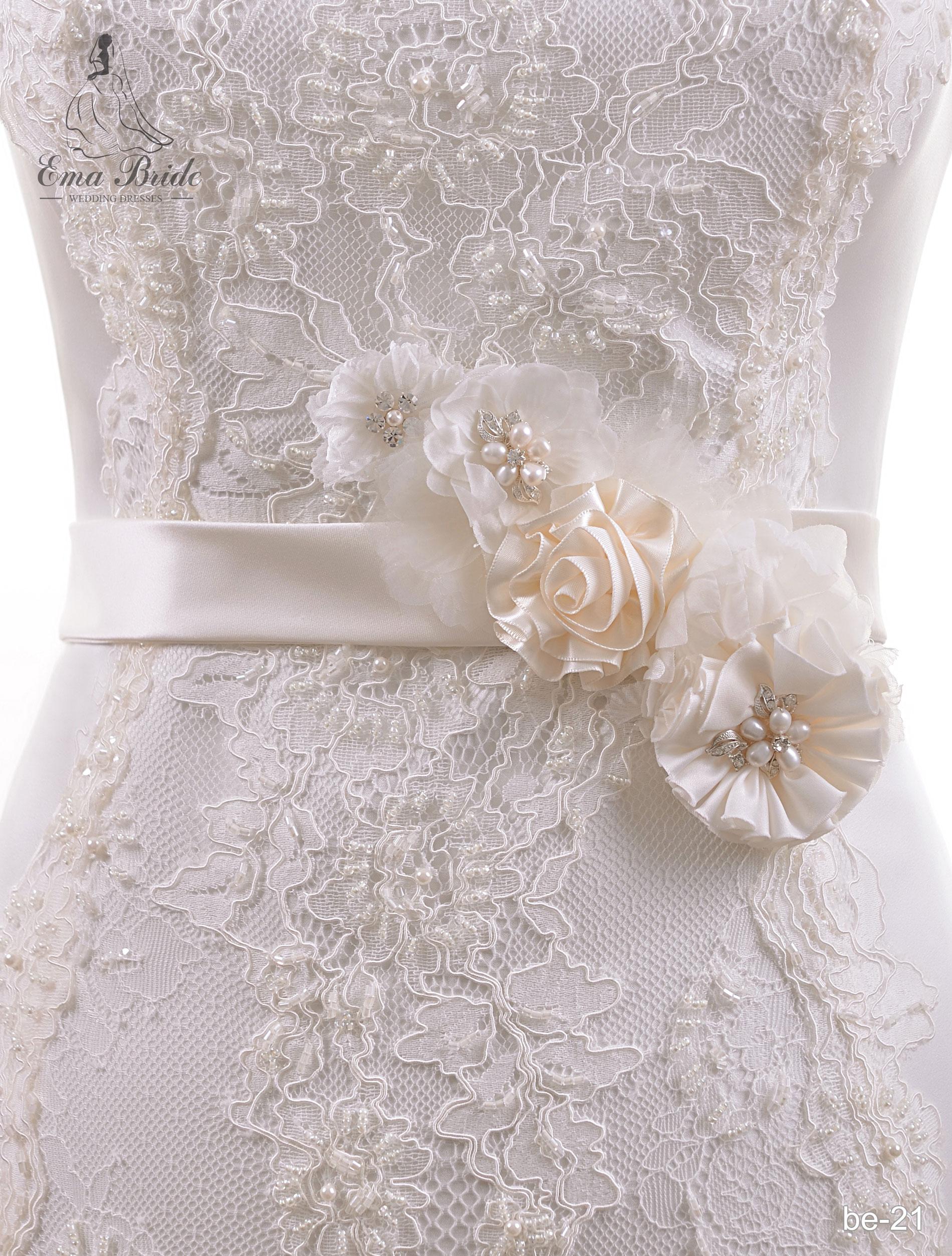 Brâuleț pentru rochie de mireasă Be-21