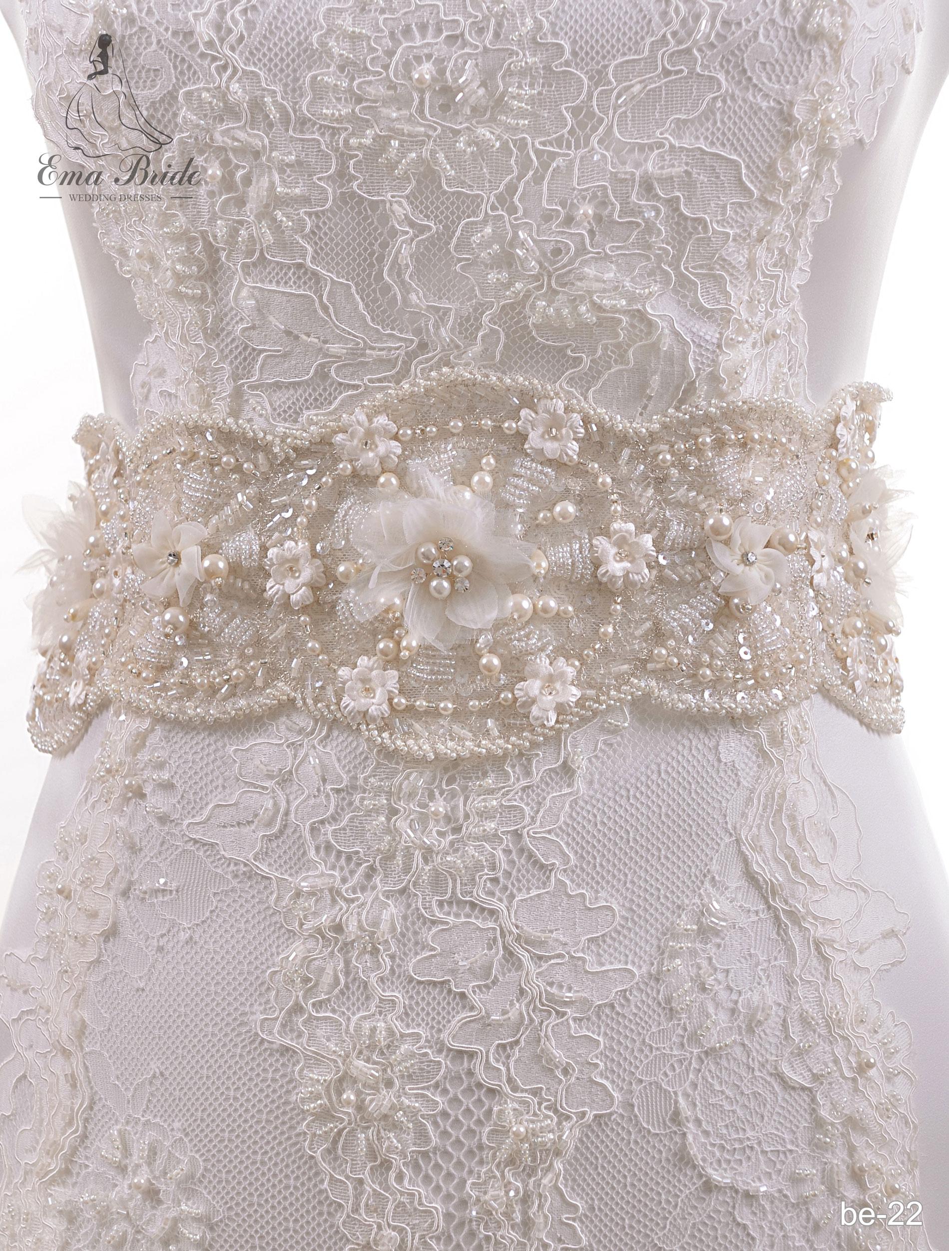 Brâuleț pentru rochie de mireasă Be-22