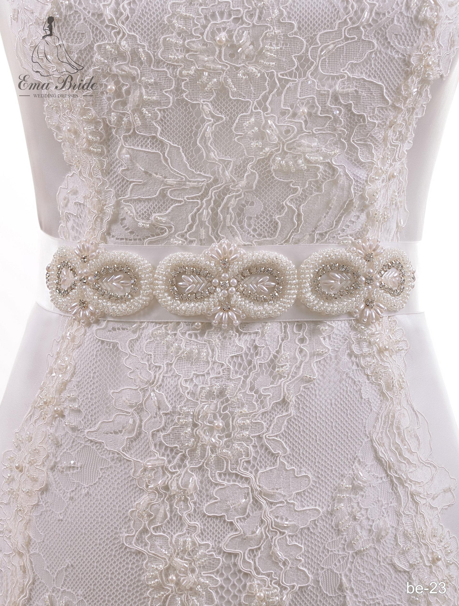 A belt for a wedding dress Be-23