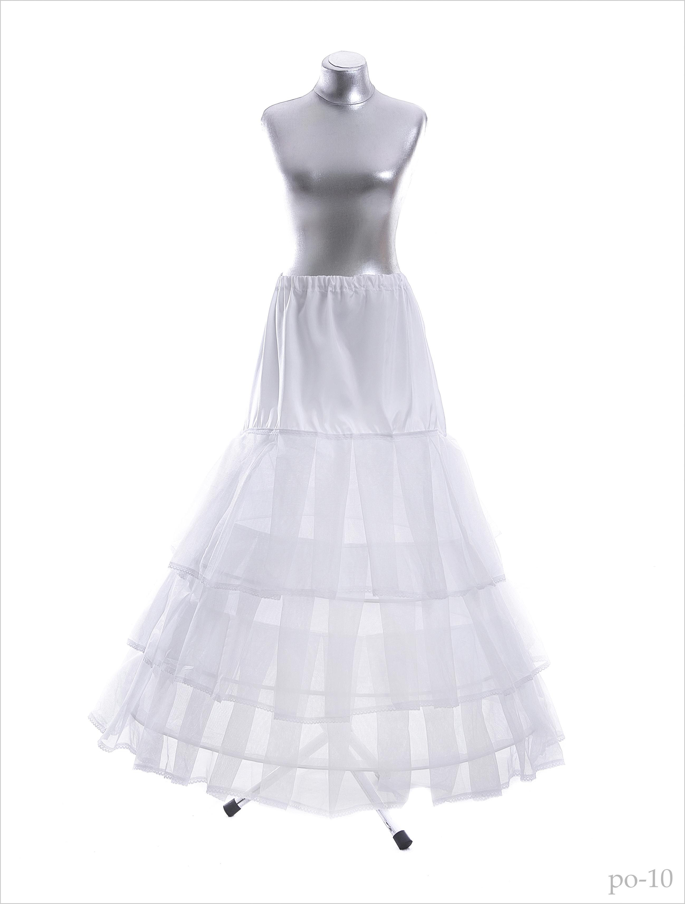 Underskirt for a wedding dress po-10