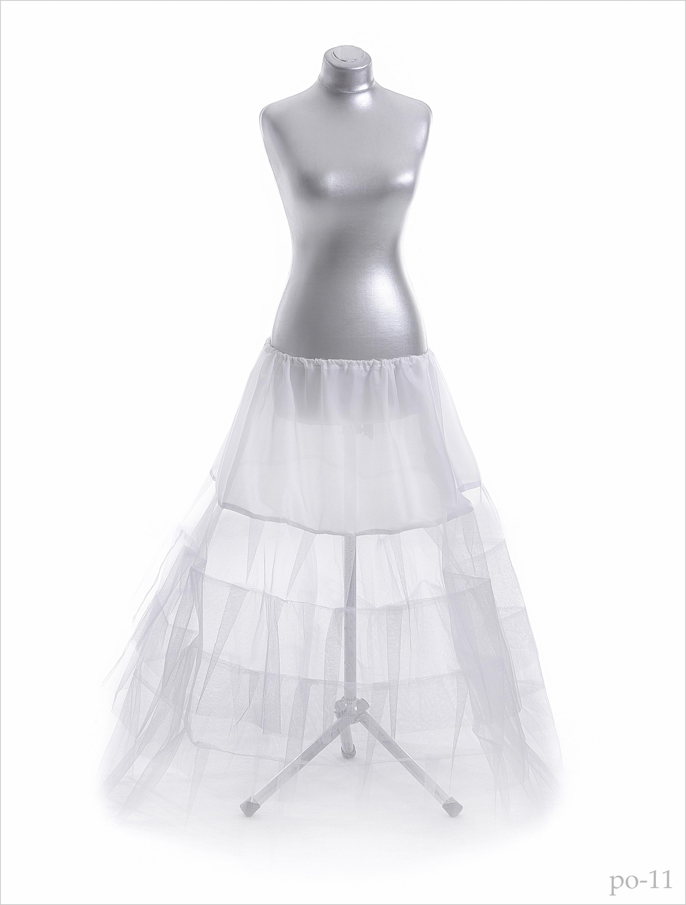 Jupon pentru rochie de mireasă po-11