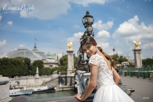 "Wedding dress of a style ""princess"" wholesale from the producer"