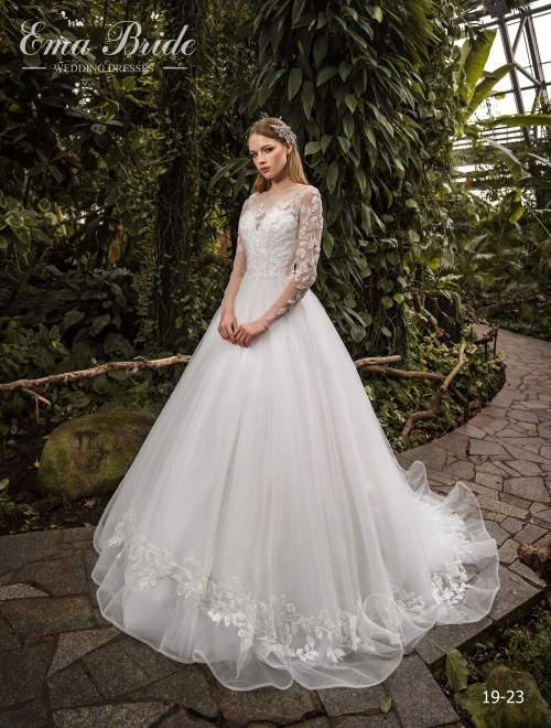 Model 19-23 | Buy wedding dresses wholesale by the ukrainian manufacturer Emabride