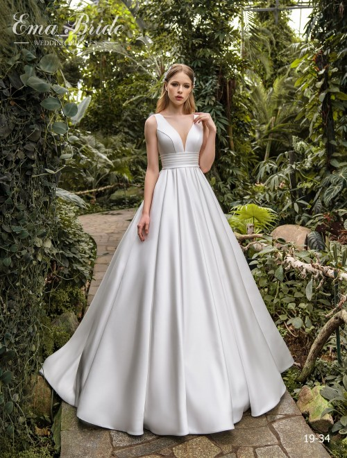 Model 19-34 | Buy wedding dresses wholesale by the ukrainian manufacturer Emabride
