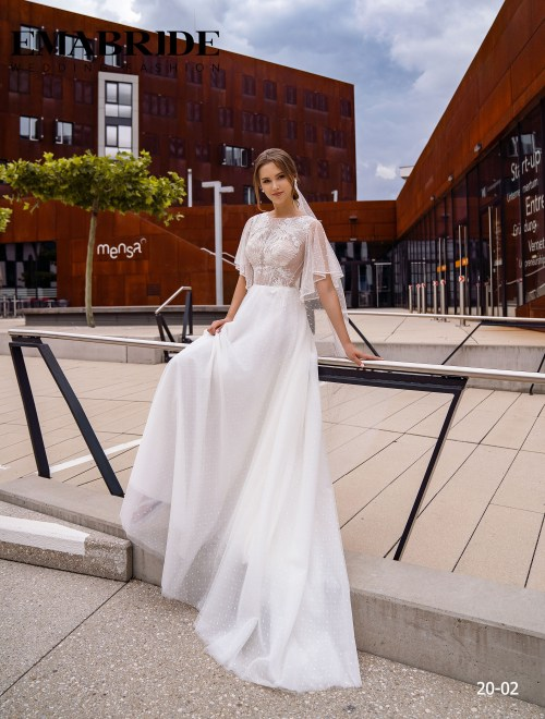 Model 20-02 | Buy wedding dresses wholesale by the ukrainian manufacturer Emabride