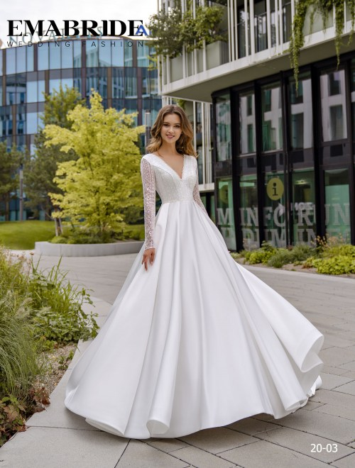 Model 20-03 | Buy wedding dresses wholesale by the ukrainian manufacturer Emabride