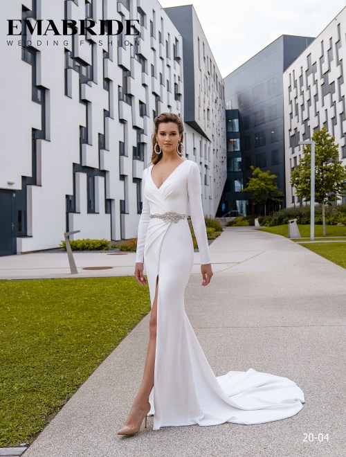 Model 20-04 | Buy wedding dresses wholesale by the ukrainian manufacturer Emabride