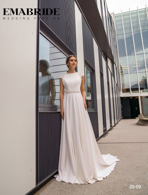 Model 20-09 | Buy wedding dresses wholesale by the ukrainian manufacturer Emabride