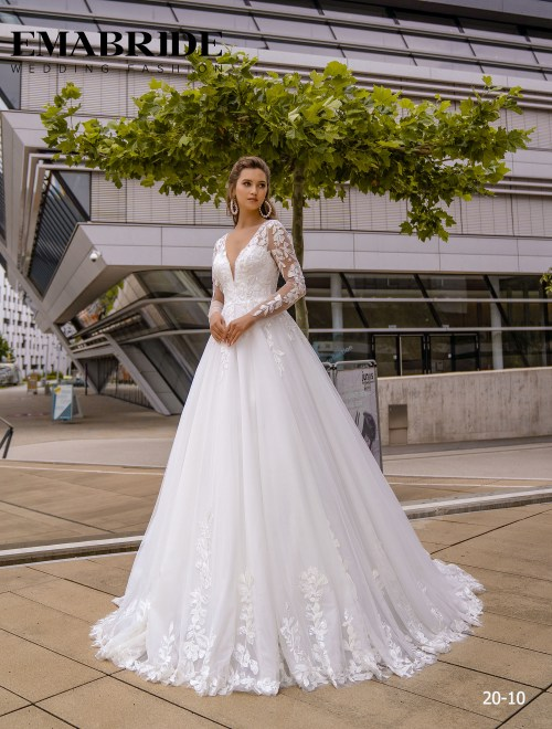 Model 20-10 | Buy wedding dresses wholesale by the ukrainian manufacturer Emabride