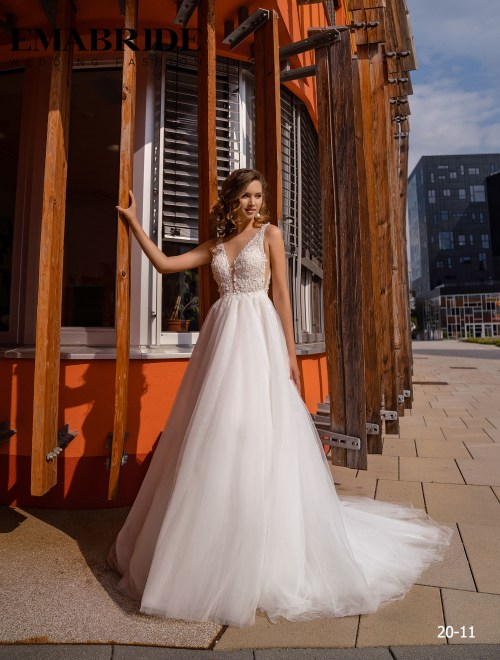Model 20-11 | Buy wedding dresses wholesale by the ukrainian manufacturer Emabride