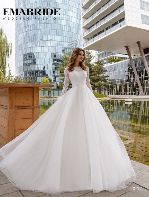 Model 20-12 | Buy wedding dresses wholesale by the ukrainian manufacturer Emabride