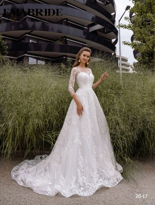 Model 20-17 | Buy wedding dresses wholesale by the ukrainian manufacturer Emabride