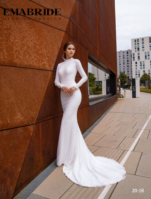 Model 20-18 | Buy wedding dresses wholesale by the ukrainian manufacturer Emabride