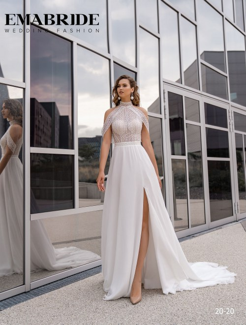 Model 20-20 | Buy wedding dresses wholesale by the ukrainian manufacturer Emabride