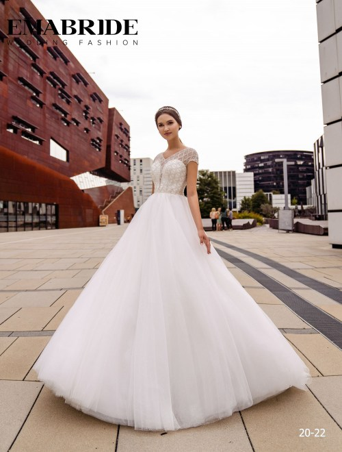 Model 20-22 | Buy wedding dresses wholesale by the ukrainian manufacturer Emabride