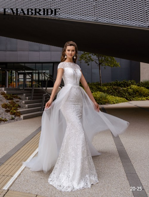 Model 20-25 | Buy wedding dresses wholesale by the ukrainian manufacturer Emabride