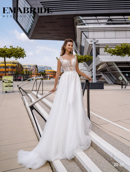 Model 20-27 | Buy wedding dresses wholesale by the ukrainian manufacturer Emabride