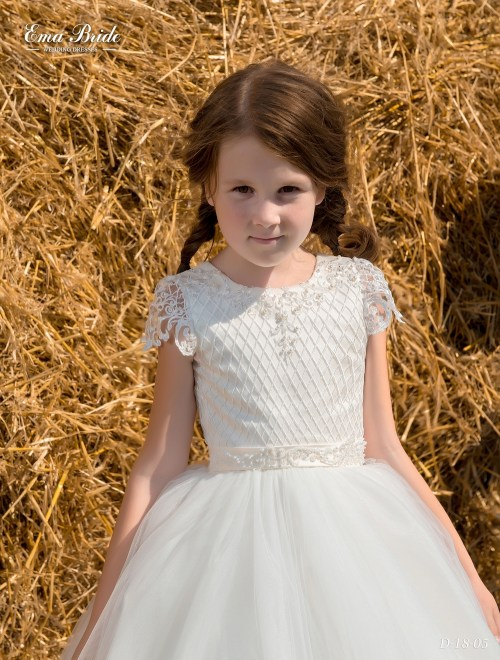 Children's dress D-18-05 on wholesale