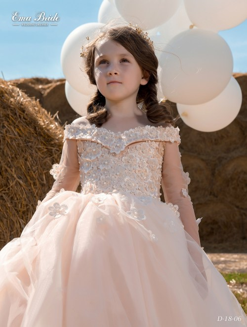Children's dress D-18-06 on wholesale