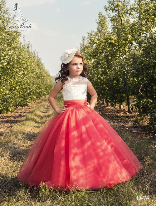 Children's dress D-74 on wholesale