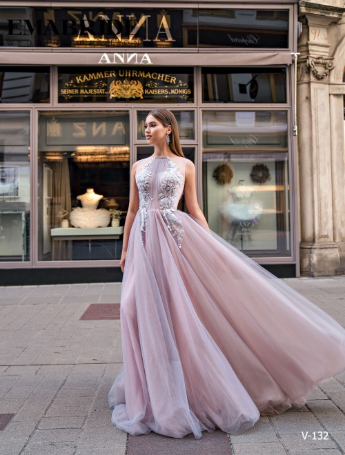 Model V-132 |  Buy evening dresses wholesale by the ukrainian manufacturer Emabride
