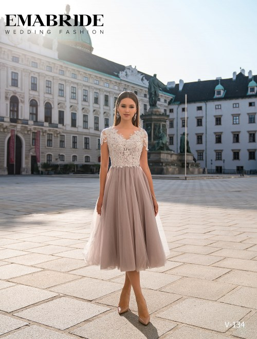 Model V-134 |  Buy evening dresses wholesale by the ukrainian manufacturer Emabride