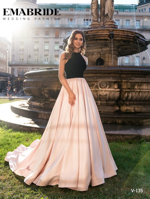 Model V-135 |  Buy evening dresses wholesale by the ukrainian manufacturer Emabride