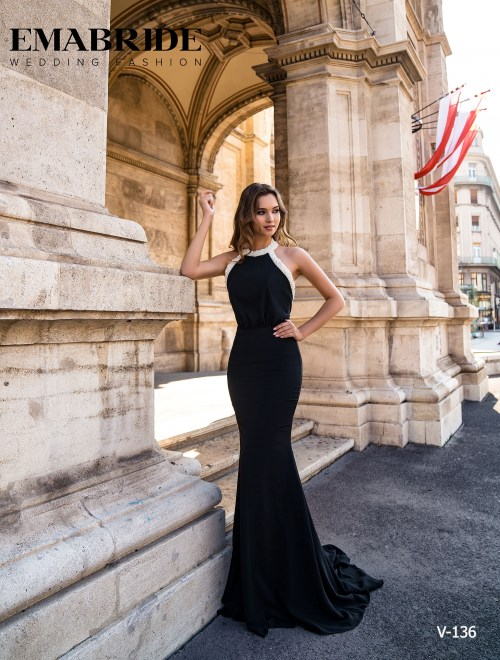 Model V-136 |  Buy evening dresses wholesale by the ukrainian manufacturer Emabride