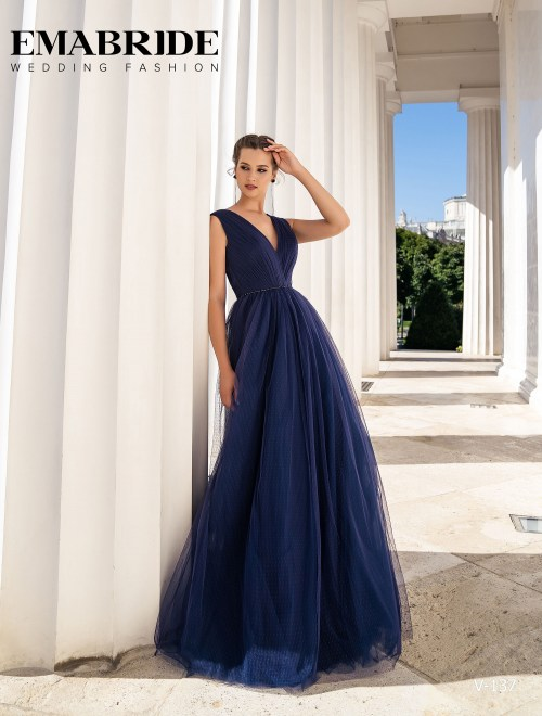 Model V-137 |  Buy evening dresses wholesale by the ukrainian manufacturer Emabride
